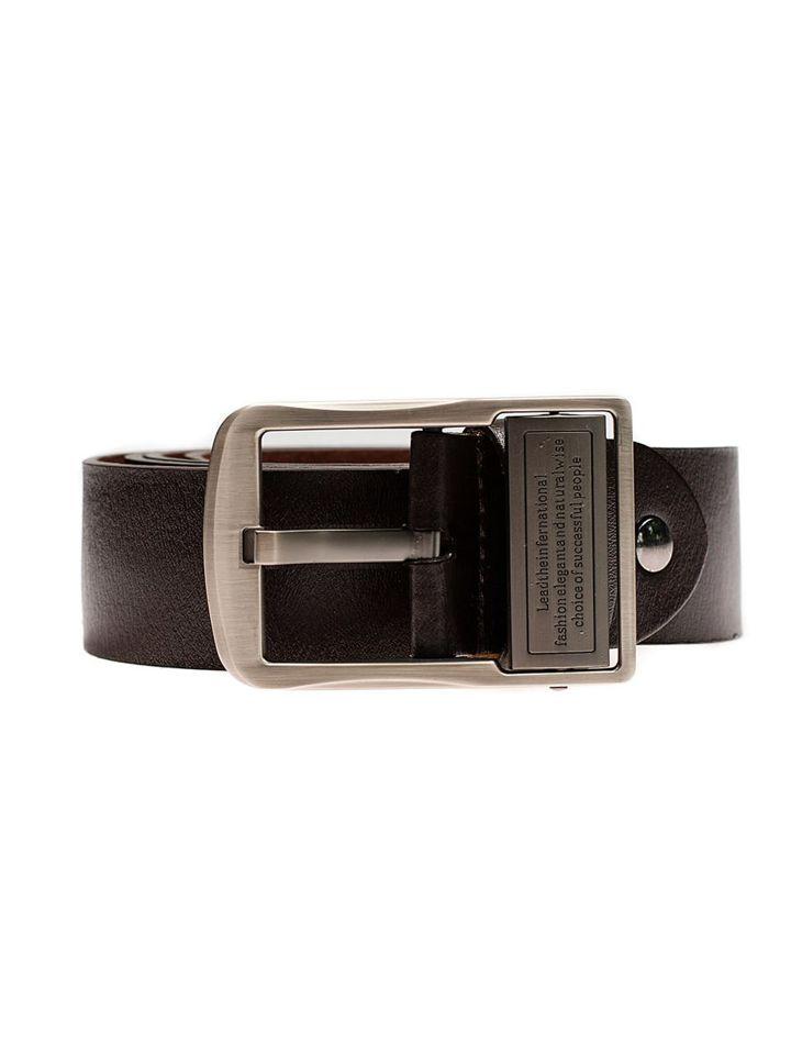 Bolf Herren Ledergürtel Braun P007-A